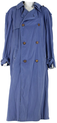 Hermes Blue Wool Trench coats