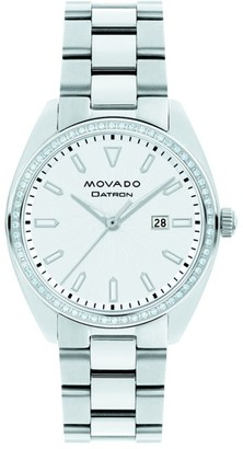 Movado Heritage Datron Stainless Steel Bracelet Watch