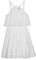 Ella Moss Girls' Tiana Eyelet Dress - Big Kid