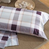 LWZY Pillowcass Pillow covrs/full cotton satin pillowcas st of 2