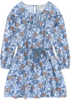Pepe Jeans Printed viscose dress
