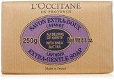 L'Occitane Shea Butter Extra-Gentle Lavender Soap, 8.8oz