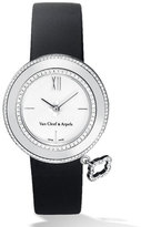 Van Cleef & Arpels White Gold Charms Watch with Diamonds, 32mm
