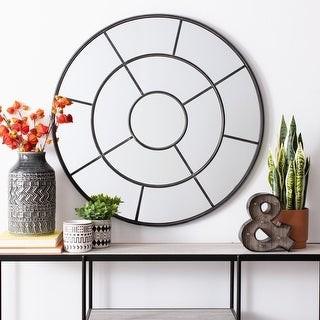 """Safavieh Jonelle 36-inch Modern Round Mirror - 36"""" W x 1.3"""" L x 36"""" H"""
