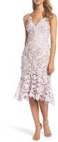 Vera Wang Women's Lace Midi Dress