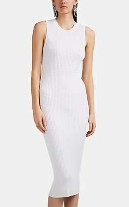 Rag & Bone Women's Brea Rib-Knit Dress - White