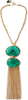 Rosantica Ardelia Gold-tone Agate Necklace - one size