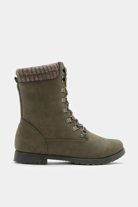 Ardene Insulated Combat Boots - Shoes |