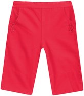 Jo-Jo JoJo Maman Bebe Twill Clamdigger Pants (Toddler/Kid) - Strawberry-2-3
