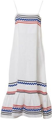 Lisa Marie Fernandez \N White Linen Dresses