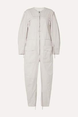 Etoile Isabel Marant Leiko Cotton-canvas Jumpsuit - Ecru