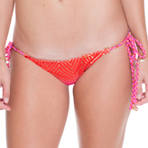 Luli Fama Wavey Tie Side Ruched Full Bottom In Multicolor (L4972FZ)