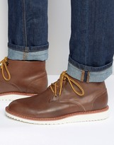 Bellfield Desert Boots In Brown Leather