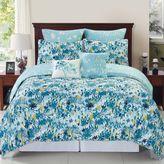 Bed Bath & Beyond Devon Reversible Comforter Set in Blue/Teal
