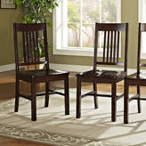 Asstd National Brand 2-pc. Wood Dining Kitchen Chairs