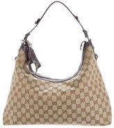 Gucci GG Canvas Icon Bit Hobo