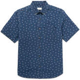 Club Monaco Floral-Print Cotton-Poplin Shirt