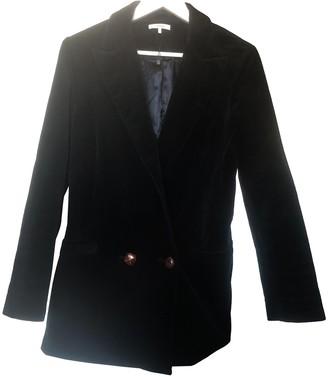 Ganni Navy Wool Jackets