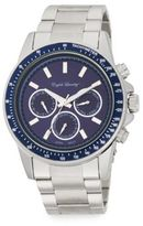 English Laundry Stainless Steel Chronograph Watch