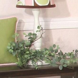 "Brandee Danielle Modern Baby Girl 15"" Table Lamp"