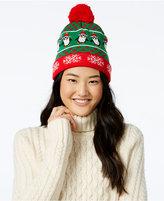 Planet Gold Juniors' Light-Up Penguin Beanie Hat
