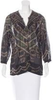 Etoile Isabel Marant Sheer Printed Tunic