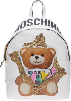 Moschino Frame Teddy Bear Backpack