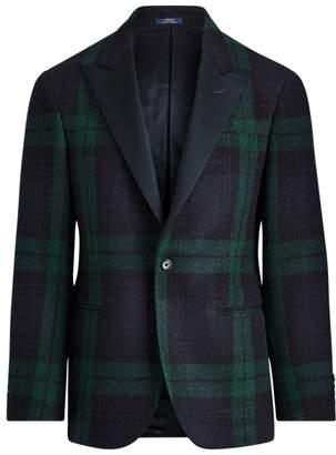 Ralph Lauren Polo Tartan Wool Tuxedo Jacket