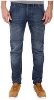 G Star G-Star - 5620 Bike 3D Low Tapered in Duke Denim Medium Aged Men's Jeans