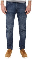 G Star G-Star 5620 Bike 3D Low Tapered in Duke Denim Medium Aged