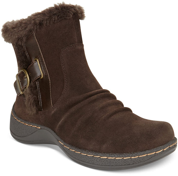 Bare Traps Empire Faux-Shearling Booties