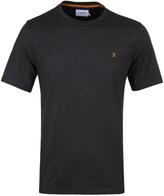 Farah Denny Charcoal Marl Crew Neck T-shirt