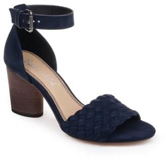Splendid Taro Woven Ankle Strap Sandal