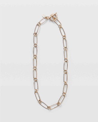 Club Monaco Oblong Link Necklace