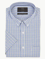 M&S CollectionMarks and Spencer Pure Cotton Tailored Fit Oxford Shirt