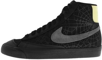 Nike Blazer 77 Mid Spider Web Trainers Black