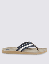 M&S Collection Striped Flip-flop