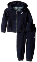 True Religion Indigo French Terry Hoodie Set (Infant)