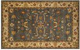 Liora Manné Trans Ocean Imports Petra Oushak Framed Floral Wool Rug