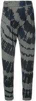 Raquel Allegra tie dye print trousers - women - Cotton/Polyester - 0