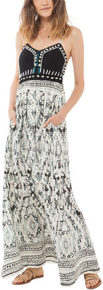 Hale Bob Sleeveless Maxi Dress