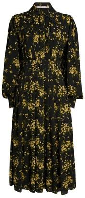Emilia Wickstead Anatola Floral Print Shirt Dress