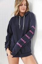 Silence & Noise Silence + Noise Peace Hoodie Sweatshirt
