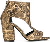 Fausto Zenga open toe boots