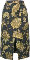 Derek Lam front slit pencil skirt