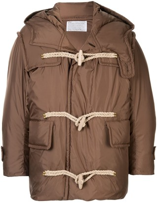 Kolor Padded Duffle Coat
