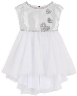 Lesy Gem-Embellished Dress (3-14 Years)