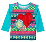 Desigual Baby Girls' TS_ROCIO Long Sleeve Top,(Manufacturer Size: 12)