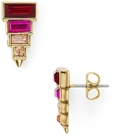 Rebecca Minkoff Stacked Baguette Earrings