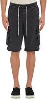 James Perse Men's Ripstop Cargo Shorts-GREY